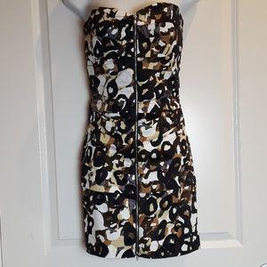 Rubber Ducky Strapless Midi Dress